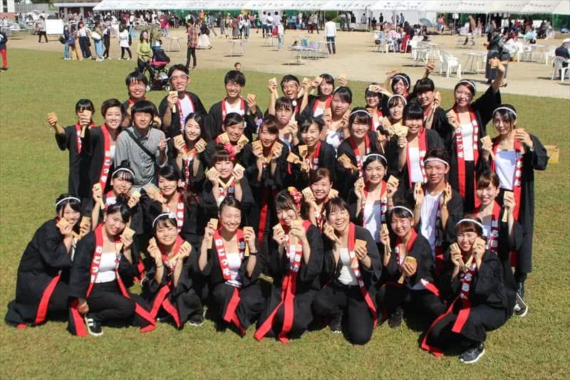 写真:高知県人会の集合写真