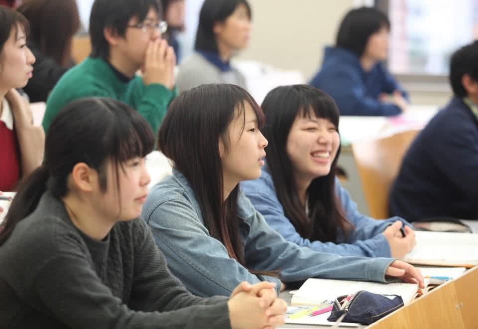 写真:社会福祉士国家試験対策の授業の様子