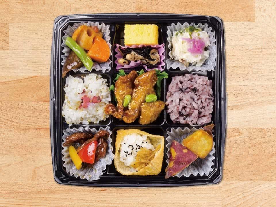 写真:秋薫る30品目の色とり鶏Bento