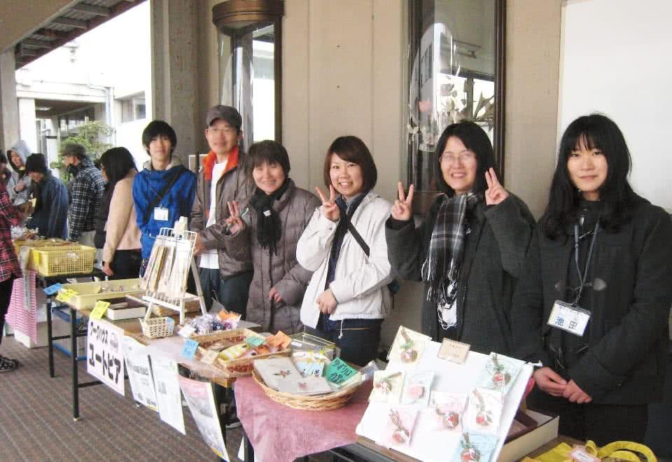 写真:地域貢献Smile Companyの活動の様子