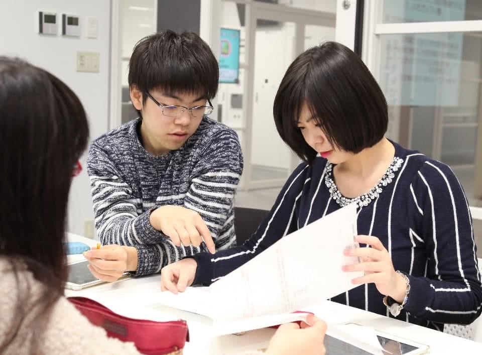 写真:社会福祉士養成課程の授業の様子