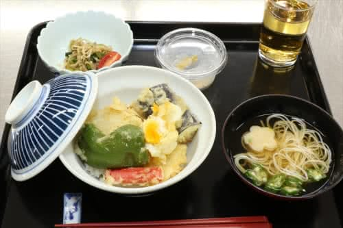 写真:提供された天ぷらお膳