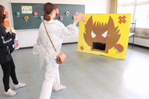 児童学科展示の様子