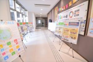 SDGs展示の様子