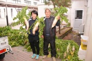 無料野菜市場の写真