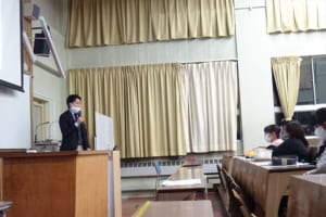 マイナビ石川氏講義の様子