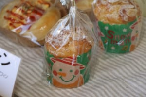 サンタパッケージのお菓子