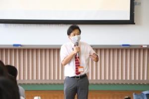 青木先生講義の様子