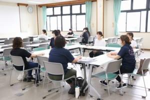 岡山県発達障害児支援保育士等研修の様子