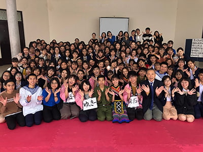 9月のベトナム派遣時の写真
