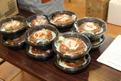ボロネーゼ丼の写真
